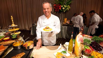 How to eat like a star - Wolfgang Puck