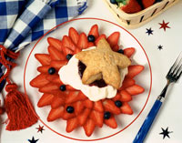 Take advantage of fresh summer fruit desserts