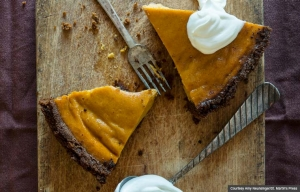 pumpkin pie (Courtesy Amy Neunsinger/St. Martin's Press)
