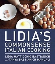 LIdia's Commensense Italian Cooking, Cookbook Gift Guide (Courtesy Random House)