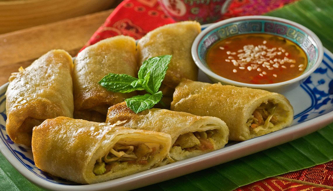 item 11 of Gallery image - Lumpia, AARP Food And Recipes, Authentic Asian Dishes