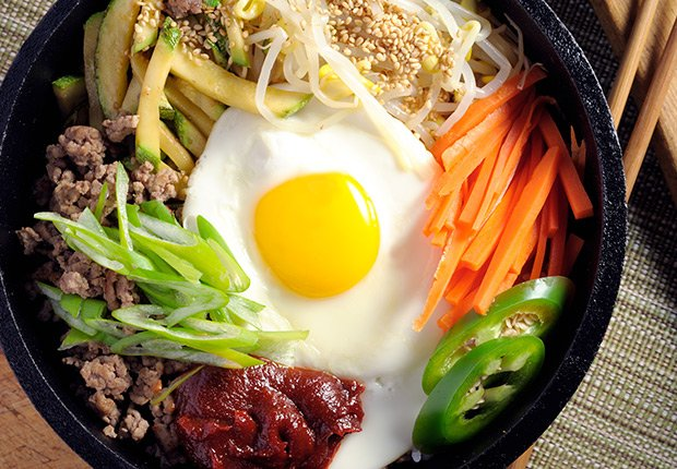 Bibimbap from Korea. A Taste of Asia.