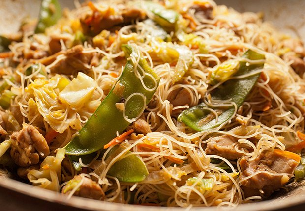 Pancit from de las Filipinas - Platos típicos de Asia