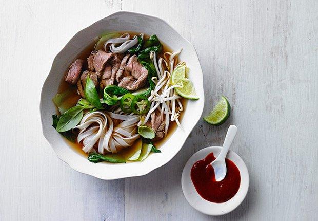 Pho de Vietnam - Platos típicos de Asia