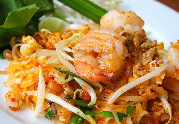 Pad Thai de Tailandia - Platos típicos de Asia