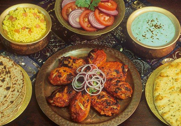 Pollo Tandoori de la India - Platos típicos de Asia