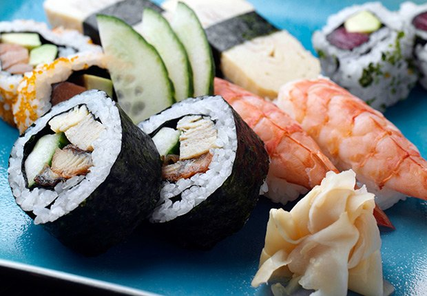 Sushi de Japón - Platos típicos de Asia
