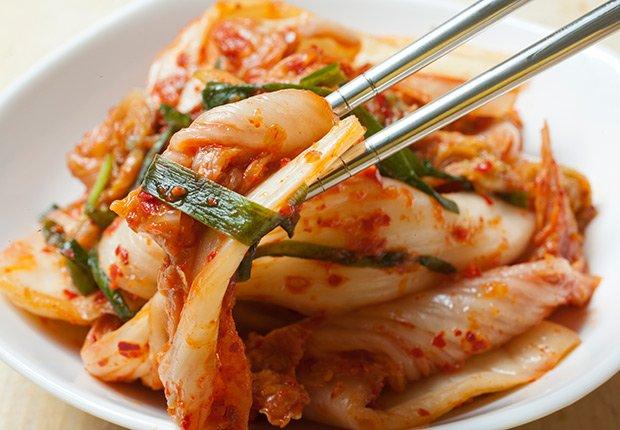 Kimchi de Corea - Platos típicos de Asia