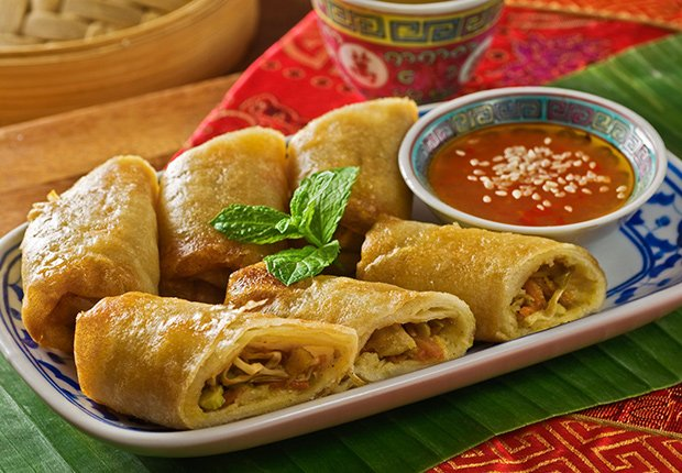 Lumpia from The Philippines. A Taste of Asia.