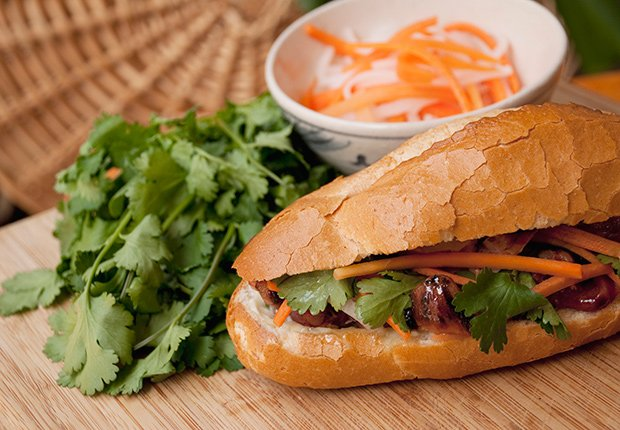 Banh Mi from Vietnam. A Taste of Asia.