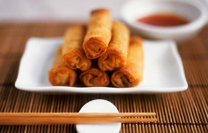 Egg Rolls - Comida china que no es realmente china