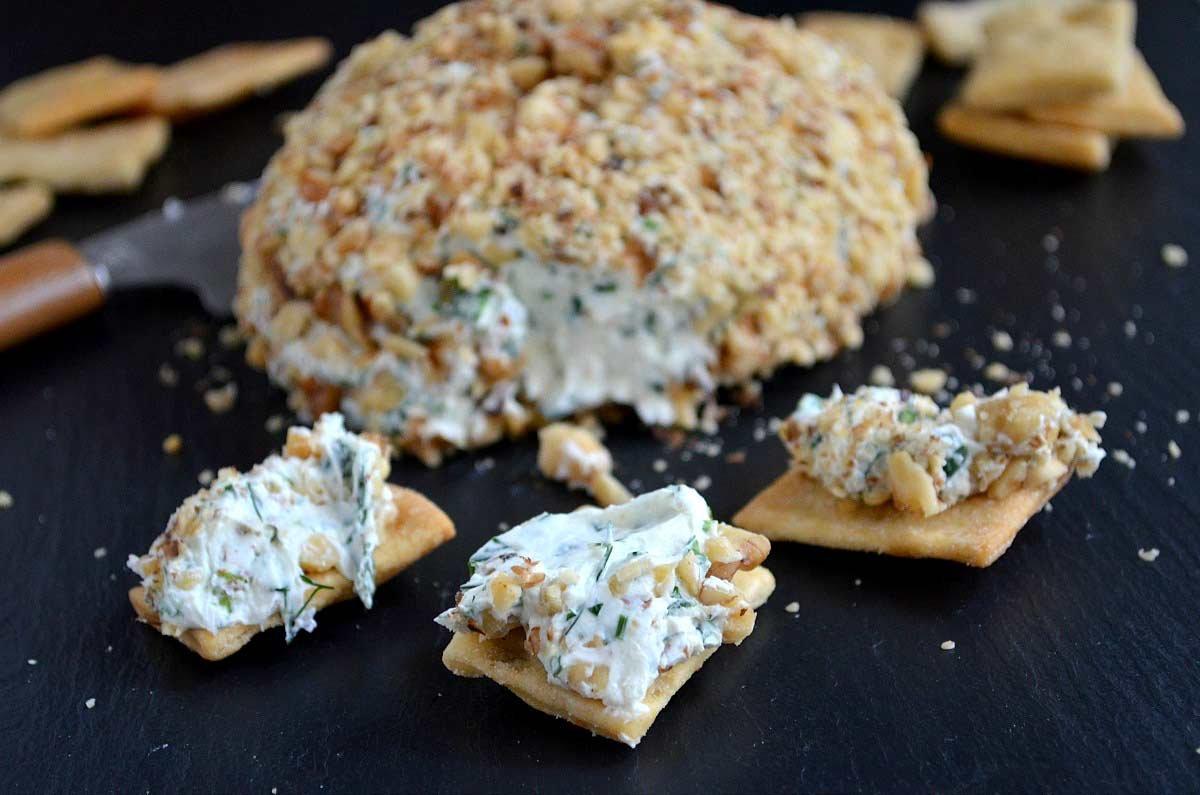 Bolas de queso - Refrigerios saludables y fáciles para el Super Bowl