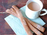 Perfect sweet: ginger bread straws