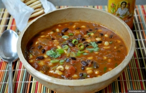Black Bean and Corn, Good For You Carb Dishes (threemanycooks.com)