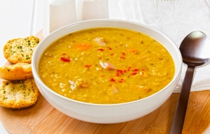 Red Lentil Soup. Cookstr High Fiber Recipes.