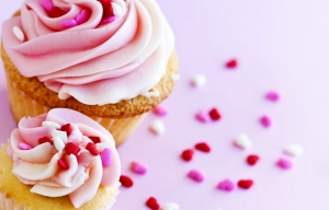 Make carrot cupcakes with pink frosting. Healthy Valentine's Day Desserts from Cookstr.