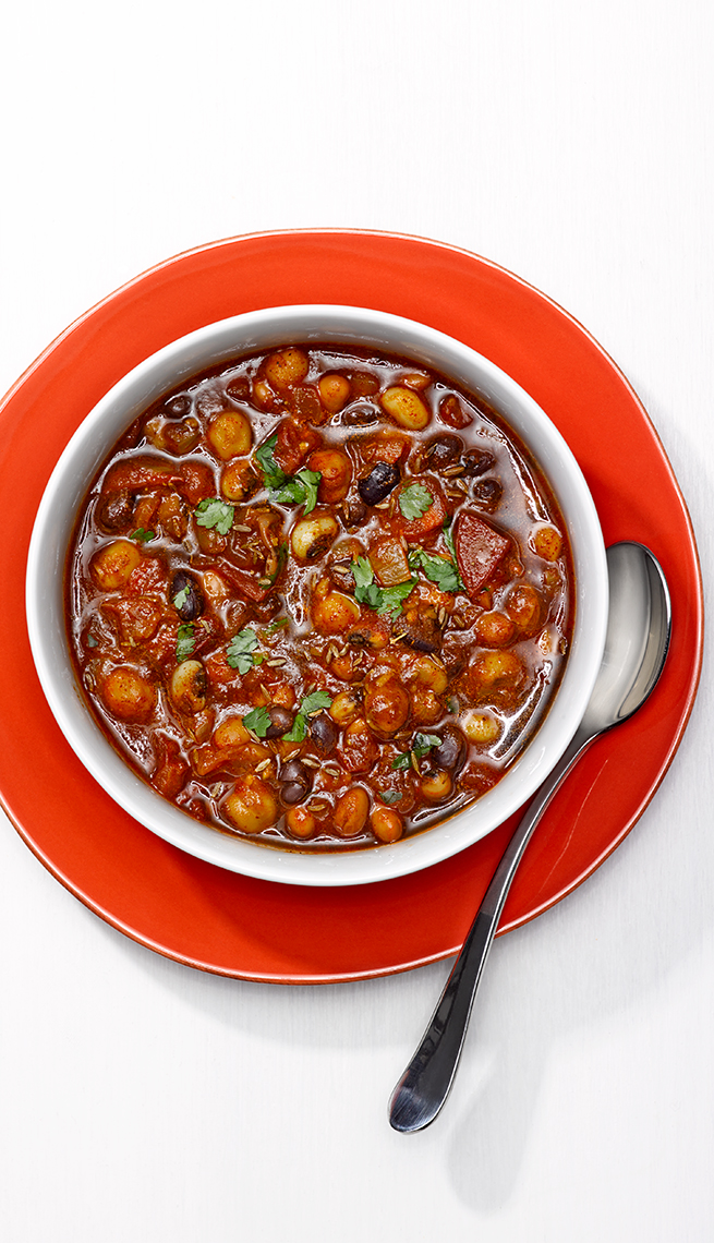 These healthy recipes can reduce your risk for cancer four bean chili cancer fighting recipes forumfinder Gallery