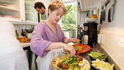 Chez Panisse Alice Waters Chef Berkeley California organic food movement ingredients