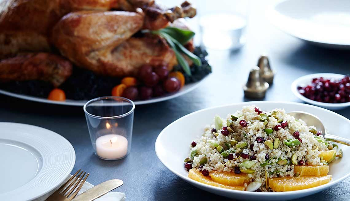 Quinoa and Turkey Thanksgiving, Stanley Tucci Recipes, Gluten-Free Thanksgiving
