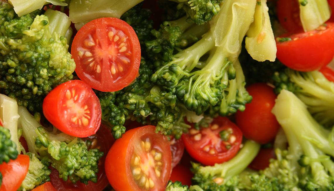 Brócoli y tomates