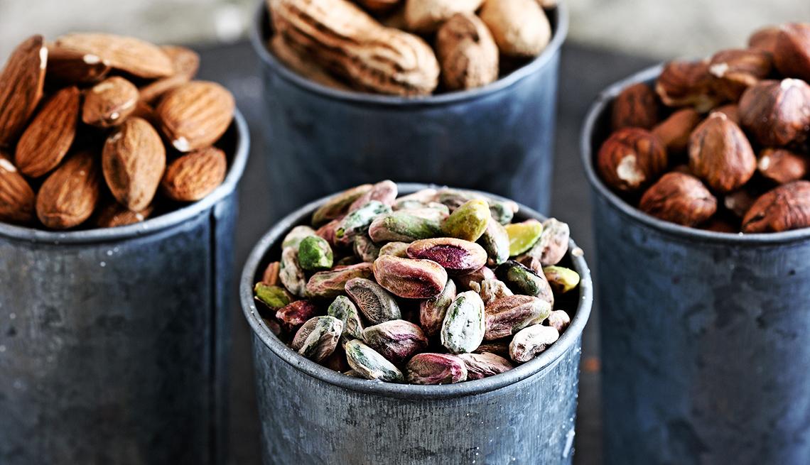 Alimentos altos en calorías, pero buenos para su salud