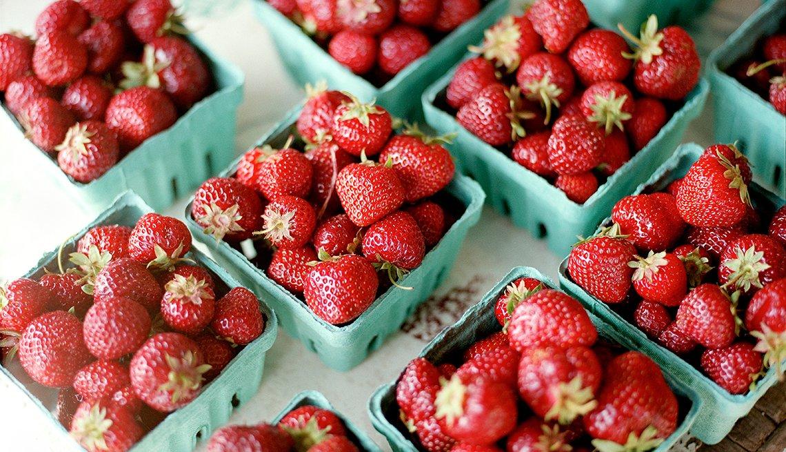 Alimentos que deberías comprar orgánicos