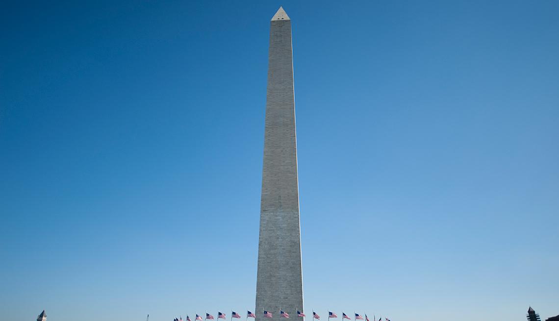 Monumento a George Washington en Washington, DC