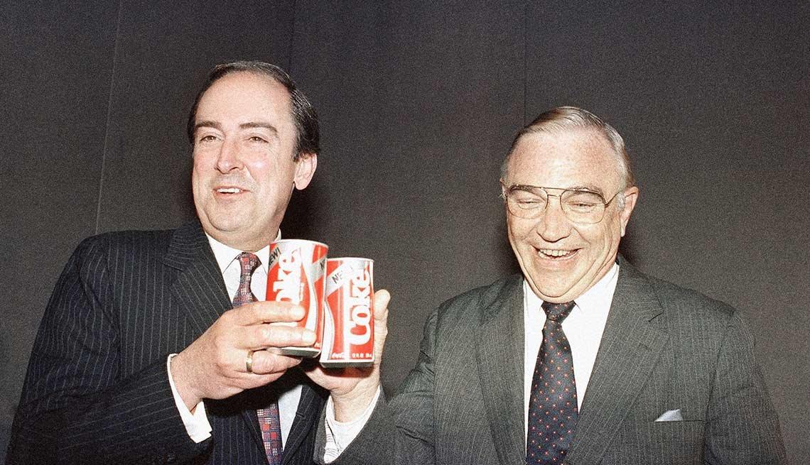 En 1985 Coca-Cola reemplazó su fórmula original de 99 años con una versión más nueva y más dulce