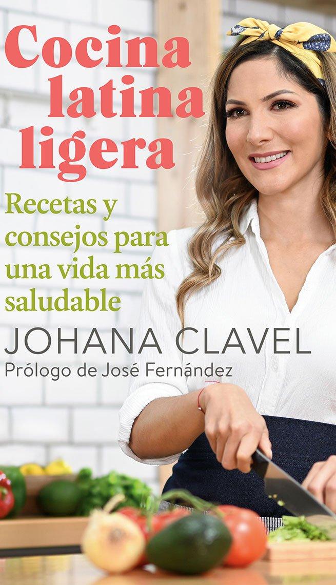 Portada del libro Cocina latina ligera de Johana Clavel