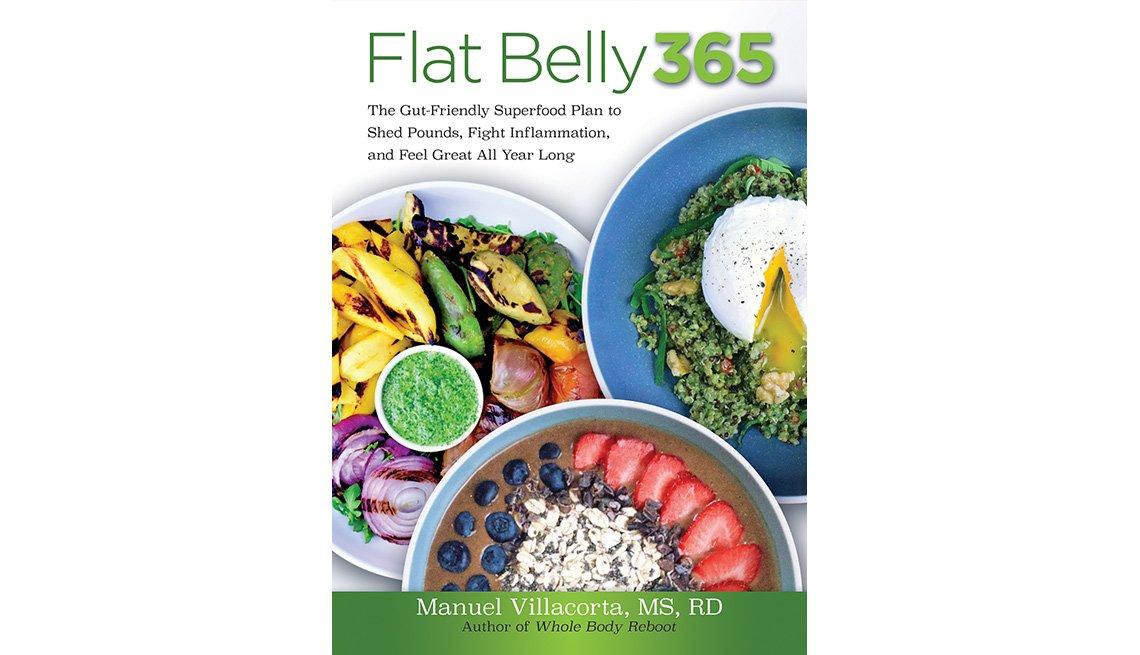 Carátula del libro Flat Belly 365