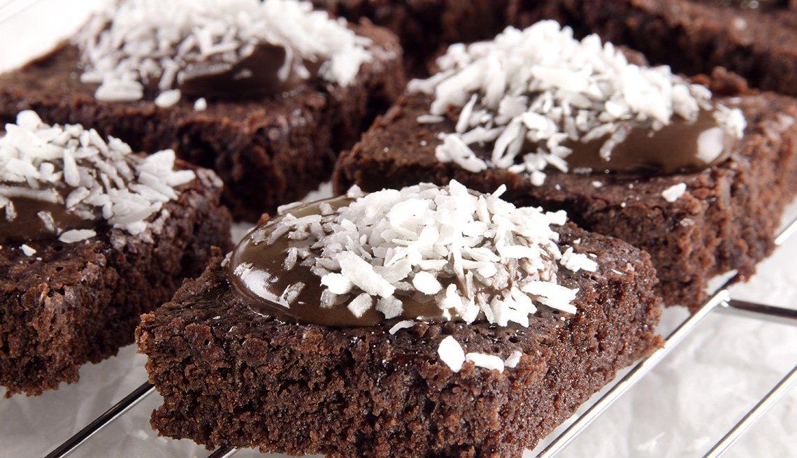 Consejos para cocinar con harina de coco - Brownies