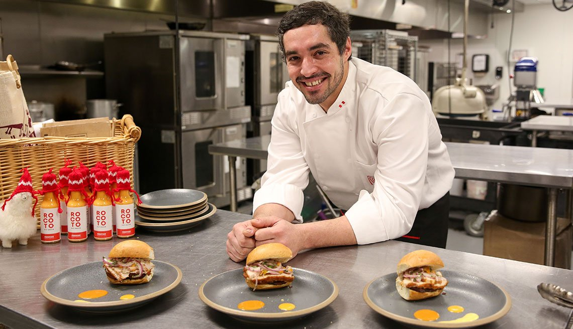Chef Mario Lanzone