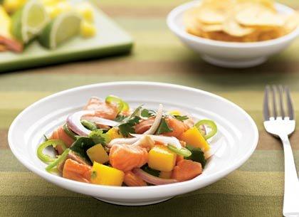 Recetas - Ceviche de Salmon