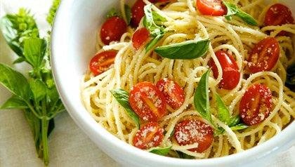 meatless monday recipes angel hair pasta garlic and lemon