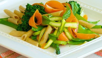 Penne and Vegetable Salad Meatless Monday recipe