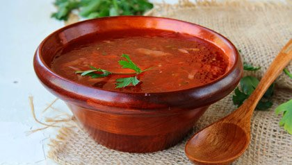 Beef and Beet Stew recipe in wooden bowl from 10 Superfoods for Optimal Health