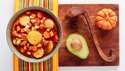 Colombian Vegetarian Ajiaco Soup - Recipe by Dennise Oller