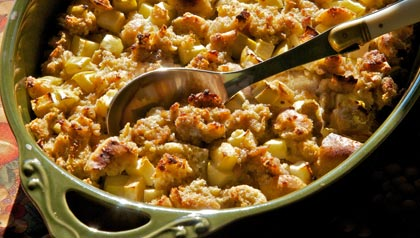 Meatless Monday-Breakfast Bread Pudding