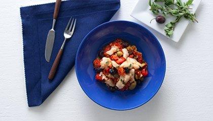 Cod in Tomato Sauce