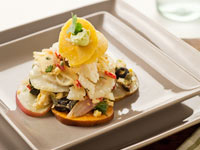 Codfish Salad Recipe by Denisse Oller
