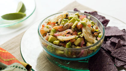 Seafood Guacamole Recipe by Dennise Oller