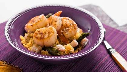 Seafood Rice Recipe by Denisse Oller