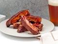 Costillitas de cerdo jamaiquinas a la parrilla - Receta de Denisse Oller