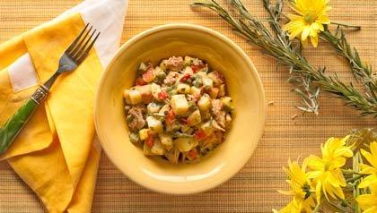 Ensalada de papa - recepta de Denisse Oller