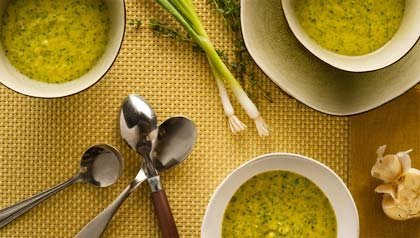 Watercress Soup - Denisse Oller Recipe