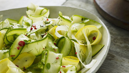 Zucchini Salad summer side dishes