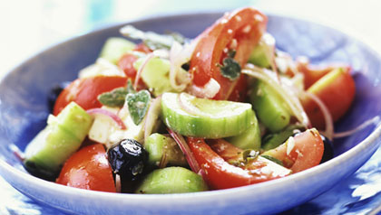 favorite greek dishes greek salad recipe