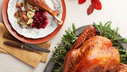 fall turkey dinner