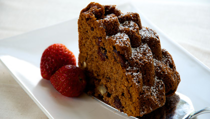 Apple Walnut Mosaic Coffee Cake Meatless Monday recipe