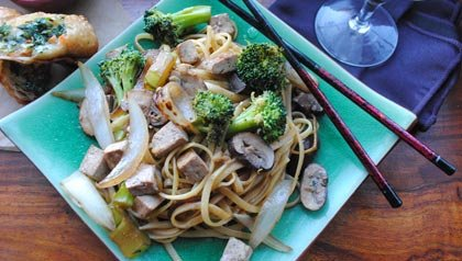 Fun Fridays: Lo Mein